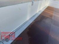 Eduard 1500 KG Hochlader - Gebremste Einzelachser - 2.5x1.45m - Ladehöhe:63 cm - 195/50R13 - Bordwände 30cm Stahl - Kastenaufsatz