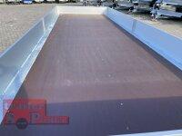 Eduard 3500 KG Multitransporter - Gebremster Tridem - 6x2.2m - Ladehöhe:63 cm - 195/50R13 - Auffahrschienen & Winde - Bordwände 30cm