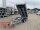 Eduard 2700 KG Rückwärtskipper Funkfernbedienung + Notpumpe - Gebremster Doppelachser - 3.1x1.6m - Ladehöhe:63 cm - 195/50R13 - Bordwände 30cm - Auffahrschienen - Schwerlaststützen