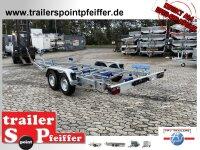 TPV ( Böckmann ) BA 2700-L Bootstrailer mit Auflagen 2700 kg für Boote bis ca. 7,5 m
