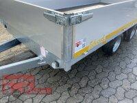 Eduard 3000 KG Hochlader - Gebremste Doppelachser - 3.56x1.8m - Ladehöhe:56 cm - 195/55R10 - Bordwände 40cm