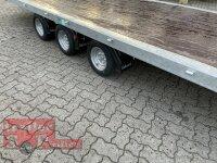 Eduard 3500 KG Multitransporter - Gebremste Tridem - 5.5x2.2m - Ladehöhe:56 cm - 195/55R10 - Flach - Seilwinde - Auffahrrampen