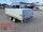 Eduard 2700 KG Heckkipper mit Rampen und Stützen - Gebremste Doppelachser - 3.1x1.8m - Ladehöhe:63 cm - 195/50R13 - Bordwände 30cm - 40 cm Bordwandaufsatz