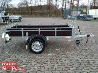 Pongratz LPA 250/12 G-H(Z)-K 1300 kg  Holzanhänger...