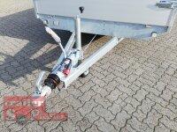 Eduard 2700 KG Hochlader - Gebremste Doppelachser - 5.0x2.0m - Ladehöhe:63 cm - 195/50R13 - Bordwände 30cm